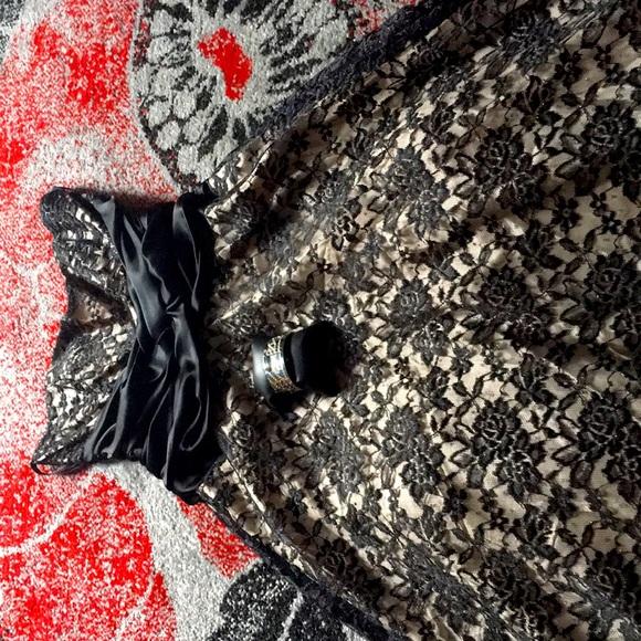 Niki Livas Black Cocktail Dress